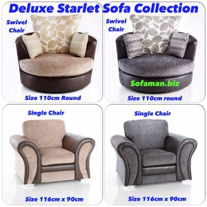 Deluxe Starlet Swivels and chairs