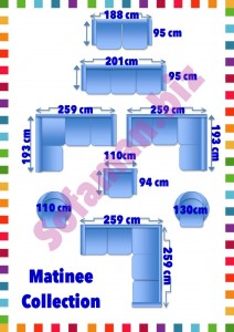 Matinee Sofa Sizes