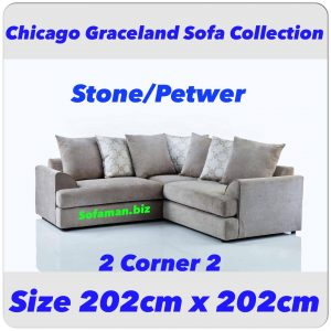 Chicago Graceland 2c2 stone:petwer